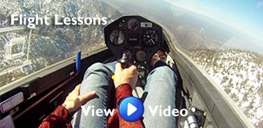 Glider Flight Instruction at Southern California Soaring Academy, in Los Angeles County