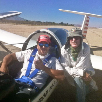 First Solo at Southern California Soaring Academy