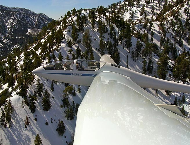Glider Ride at Southern California Soaring Academy - Wow!